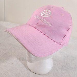 Cute Pink Volkswagen VW Adjustable Ball Cap